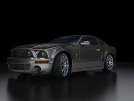 Mustang gt500kr - rerendered by Koxy911