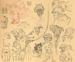 Sketches from Sketchbook by Axel13-Gallery