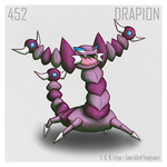 452 - Drapion by SanctifiedVengeance