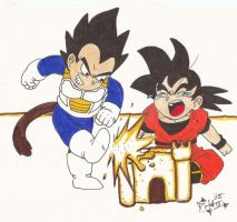 dbz kidz by bigbabyretard