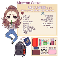 [P] Meet The Artist17 by amouu