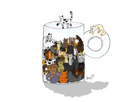 Cup of warrior cats by ILoveFood99