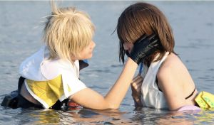 Final Fantasy X tidus with yuna cosplay by rubensbuer