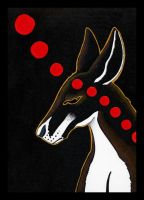 Red Kangaroo as Totem Redo by Ravenari