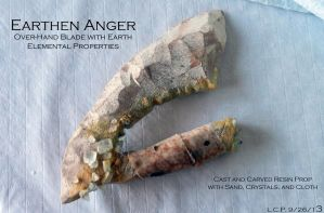 Prop Blade: Earthen Anger by Sathiest-Emperor