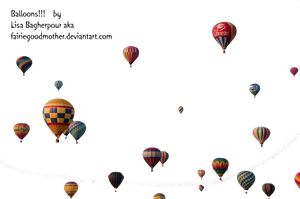 Precute Hot Air Balloons 2 by FairieGoodMother