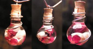 Magic Vial - Inspired Love Pendant by Izile