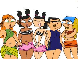 TDI Girls weight swap 1 by kenzedie