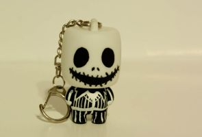 Nightmare Jack Key Chain by maskedrabbitcrafts