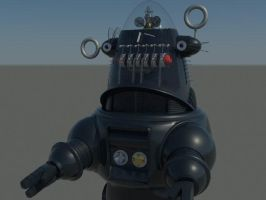 Robby the Robot 2 by RoyStanton