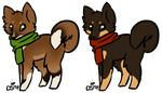 Canine Designs - Both Sold by Miss-Adopts