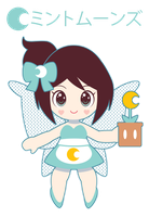 Chibi Minty for Minty Moons ::GIFT:: by Itachi-Roxas