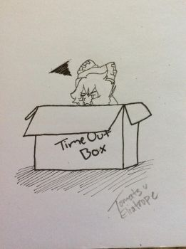 Don't Leave The Box, Toma! by TomatsuTheEliatrope