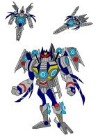TFA Movieverse Soundwave by AleximusPrime
