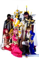 The Code Geass Home Team by pink-fishy
