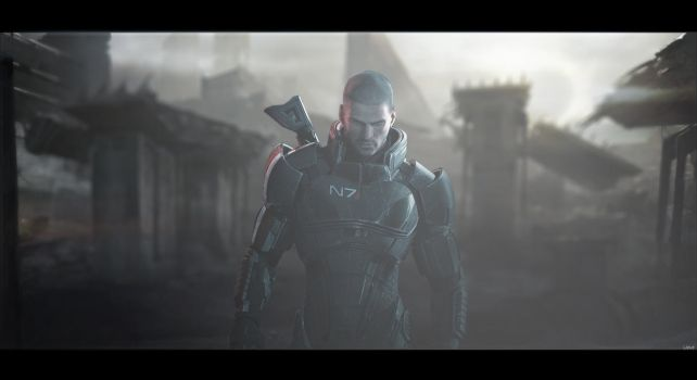 Mass Effect 3 Wallpaper by igotgame1075