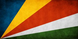 Seychelles Flag Grunge by think0