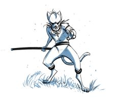 Ninja Cat by Temiree