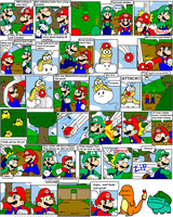 super mario bros page 38 by Nintendrawer