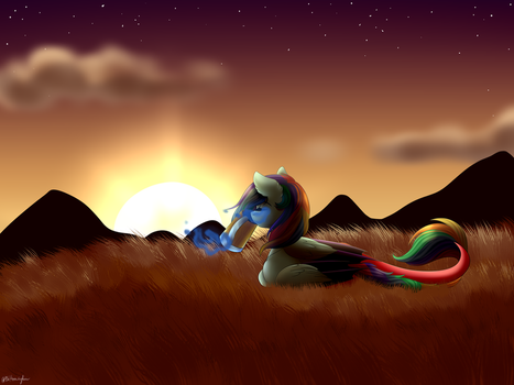 [C] On the Hill by OhHoneyBee