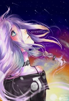 IA - ARIA ON THE PLANETES - by naftie