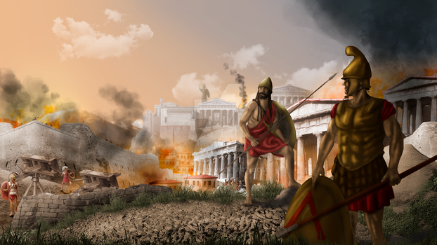 Ancient Warfare, Siege in Athens by CellTv