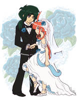 Princess Tutu - Fakiru - Wedding by amako-chan