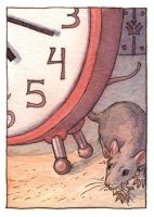 ACEO: Mouse Time by emla