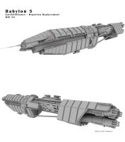 Babylon 5 - EA Orginal Wip 5A by Mallacore