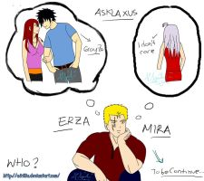 Asklaxus : Mira or Erza? by afrillia