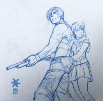RE 4 sketch by Mundokk