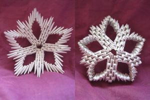 3D Origami Star by iDoux