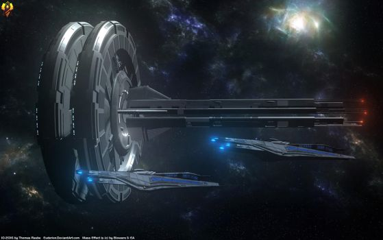 Alliance Gagarin Station by Euderion