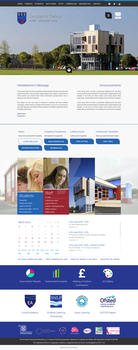 Longsands Website Concept by timmoproductions