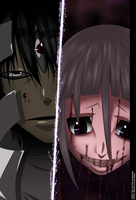 Soul eater 103 - Kishin And Crona by HikariNoGiri