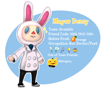 Animal Crossing NL: Town Card by MrGremble