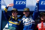 1995 Australian Grand Prix Podium by F1-history