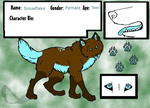 Snowflake Ref Sheet by DoubleTroubleWolves