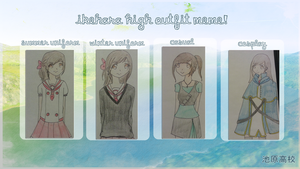 [Ikehara High] Outfit Meme-Sodie by LostSummer