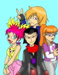Seth and his gang by CathyMouse2010