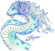 Shapeer by Patchworkdove