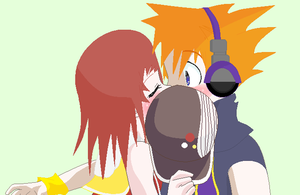 The world ends with a kiss by alyssaoz