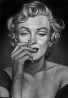 Marilyn Monroe by Sabine-K