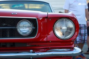 RED Mustang - rear lights by GregKmk