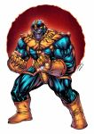 Thanos - Alonso Espinoza colors by SpiderGuile