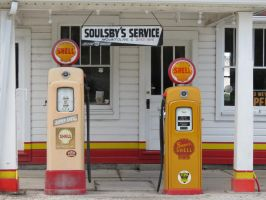 Soulsby's Service Station by RonTheTurtleman