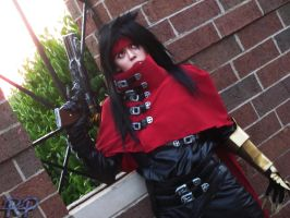 Vincent Valentine: Watching by Ritzy-kun