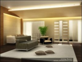Living Room second floor by surono
