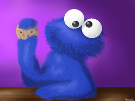 Cookie Monster by Agussska