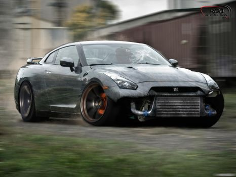Nissan GT-R Attack by RDJDesign